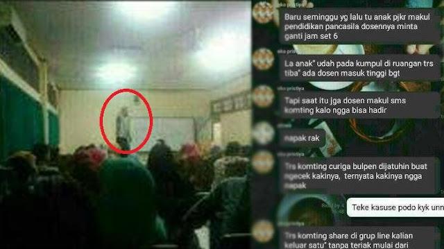Heboh Dosen Gaib Yogyakarta