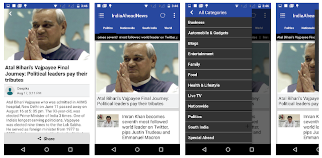 YouthApps - IndiaAheadNews Mobile App