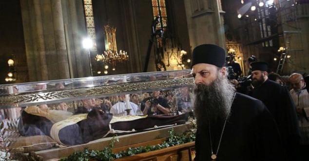 Митрополит Порфирије признао јеретика за светитеља