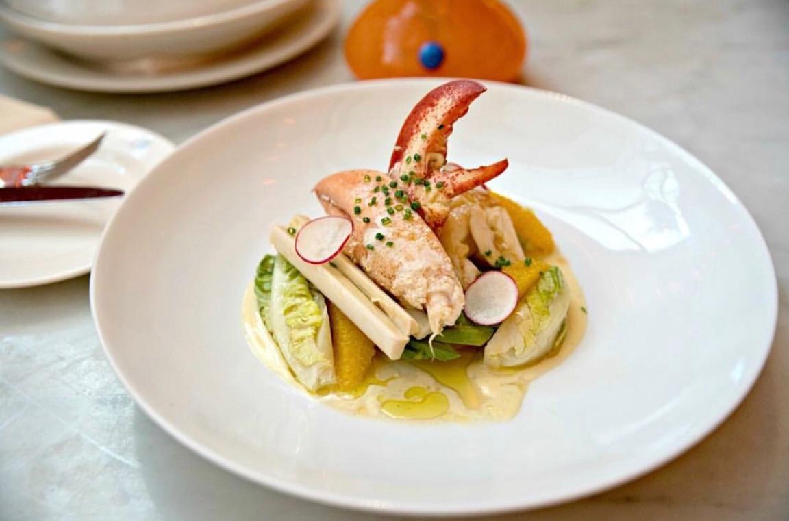 Eating Fabulously, Christopher Stewart, Restaurant review of Brasserie 8 1/2, Brasserie 8 1/2, dinner,