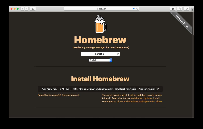 Come installare Homebrew su macOS
