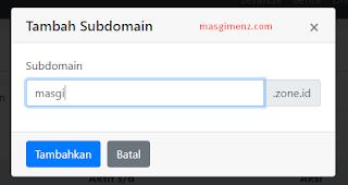 domain gratis 2018