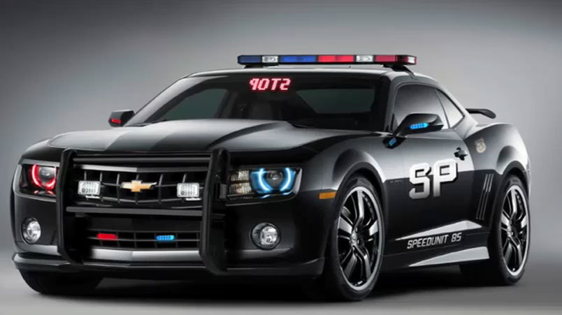 camaro police car 2