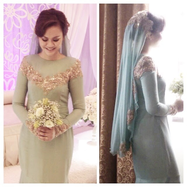 dress nikah mint 2015