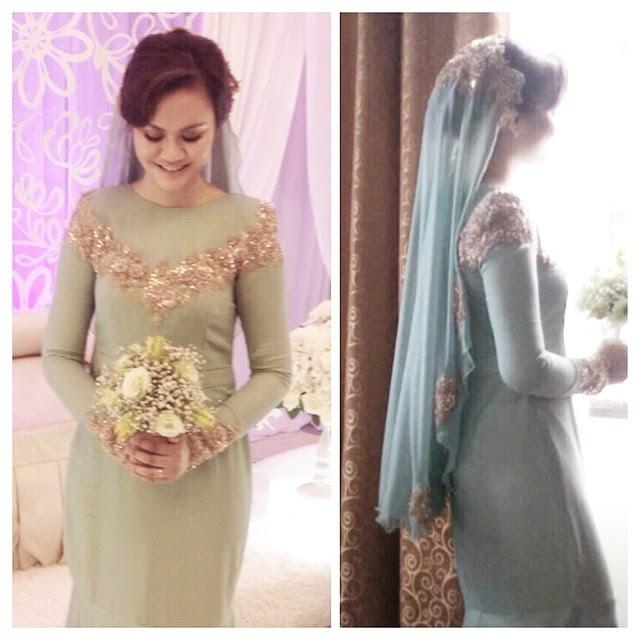 dress nikah mint 2015