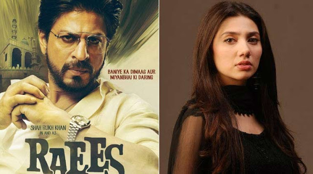Pakistani actress Mahira Khan dropped from Raees