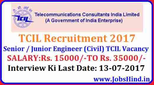 TCIL Recruitment 2017