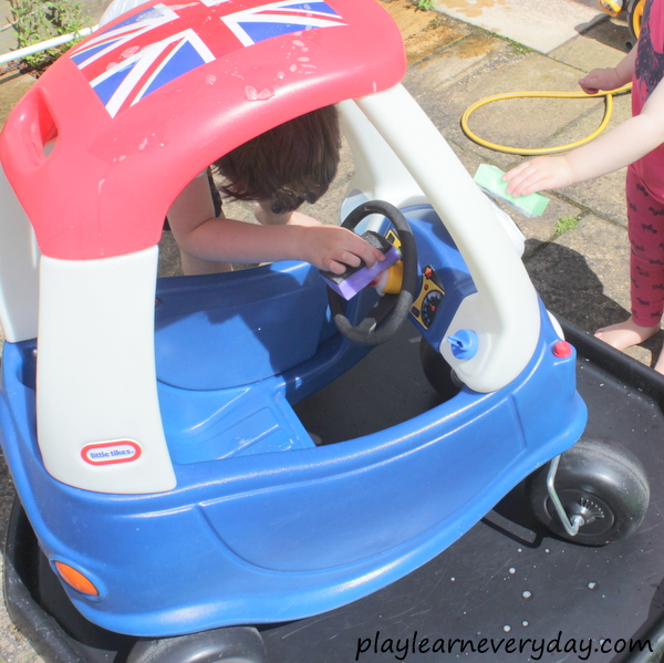 Water Play Car Wash Play And Learn Every Day