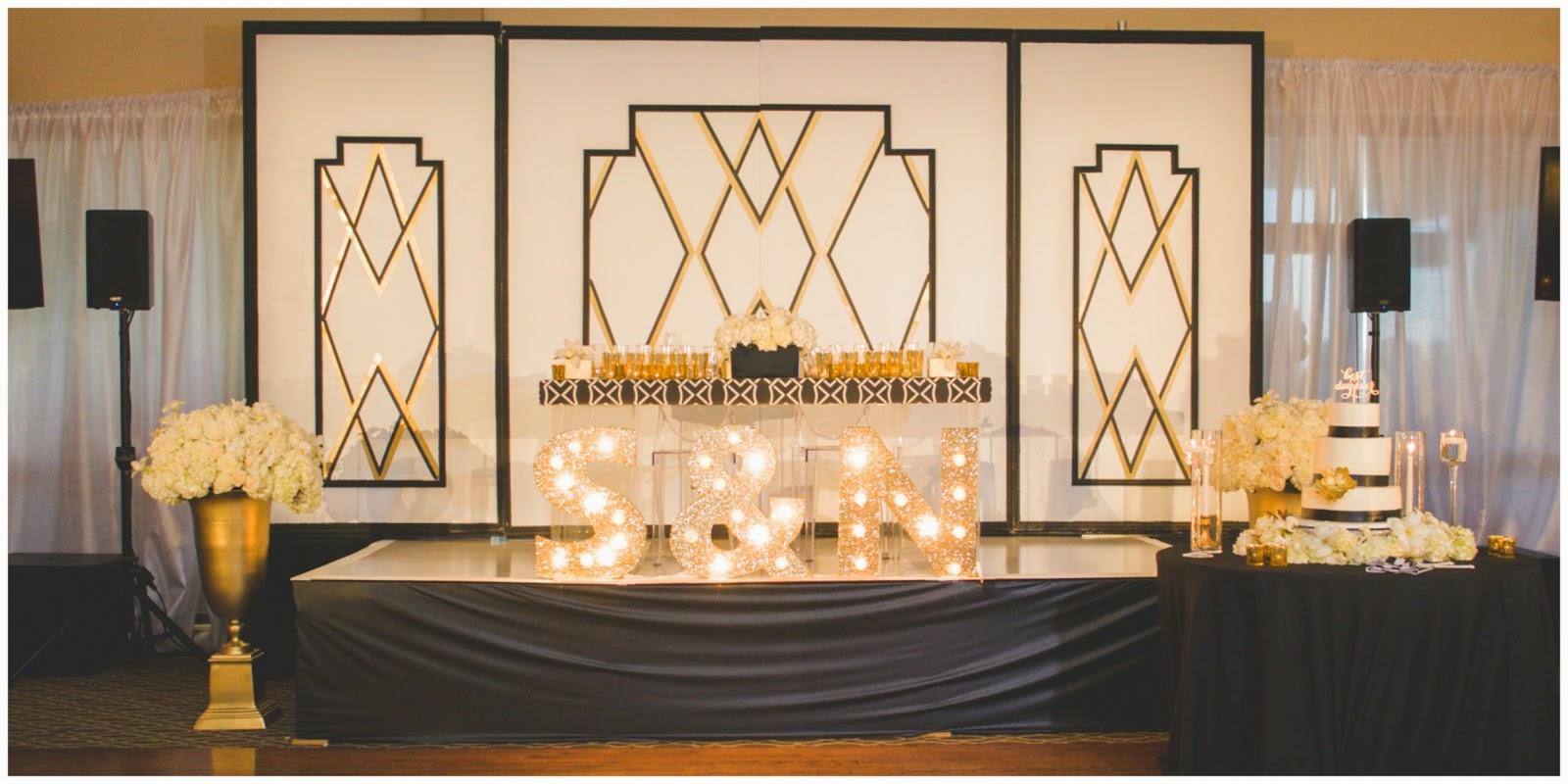 Shawna Yamamoto Event Design Gorgeous White Black And