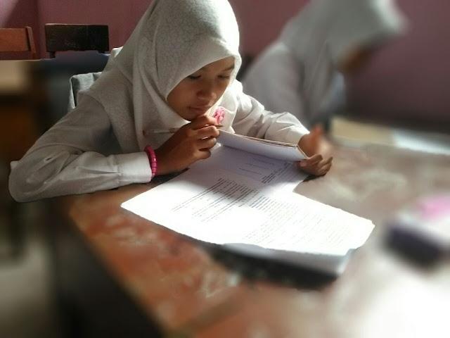 Pelaksaan Test Siswa Baru SMP Al Azhar Citangkolo