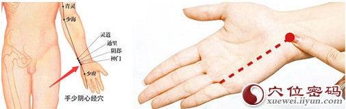 神門穴位 | 神門穴痛位置 - 穴道按摩經絡圖解 | Source:xueweitu.iiyun.com