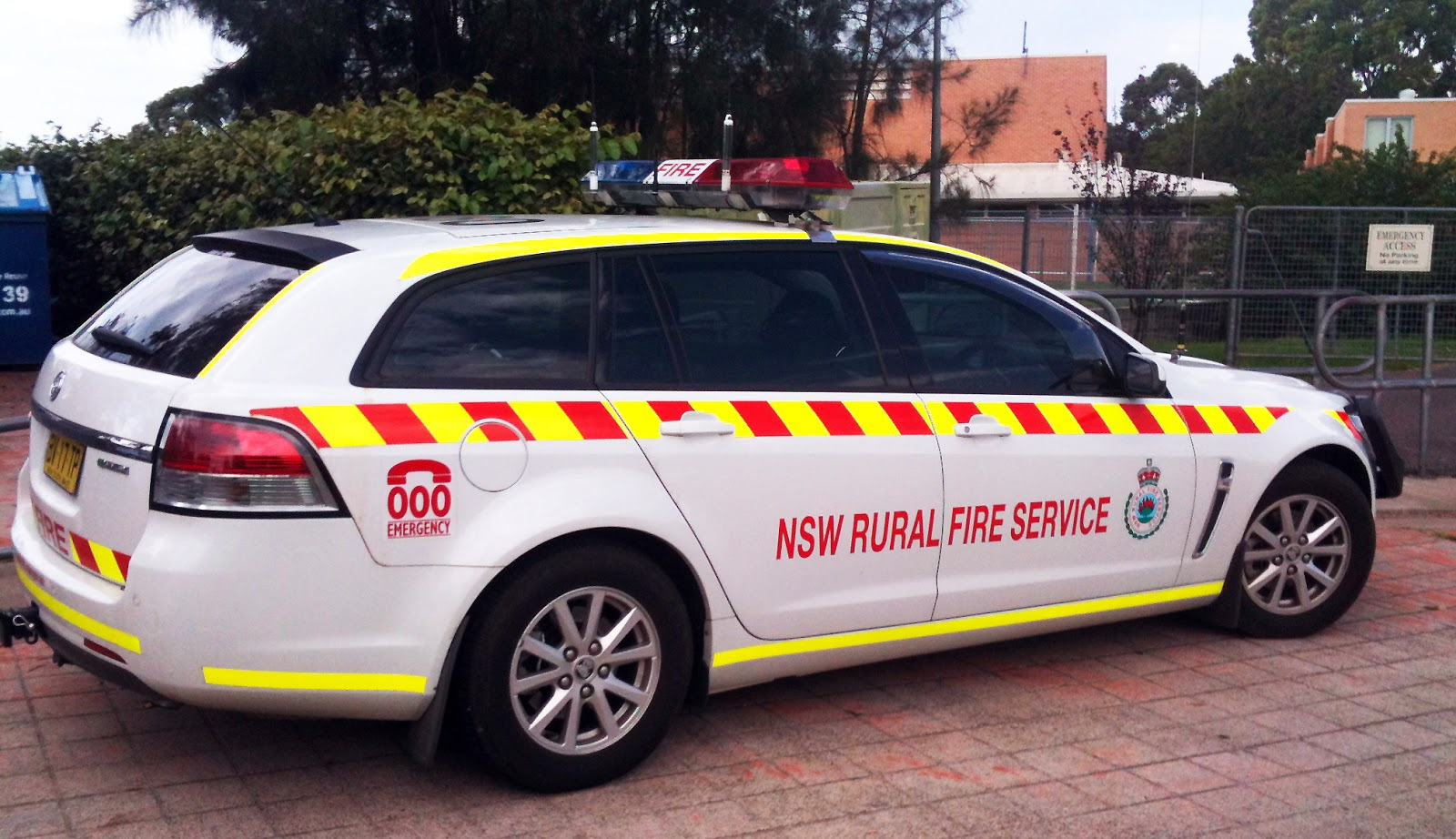 NSW RADIO AND COMMUNICATIONS - by Michael Bailey: RURAL FIRE