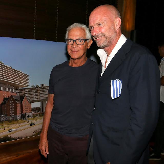 Eduardo Costantini y Giuseppe Cipriani en #PuntaDelEste