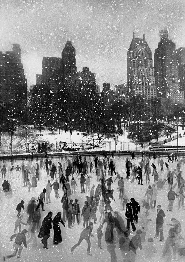 wollman ice rink in central park new york, 1954, questions to ask yourself before the end of the year