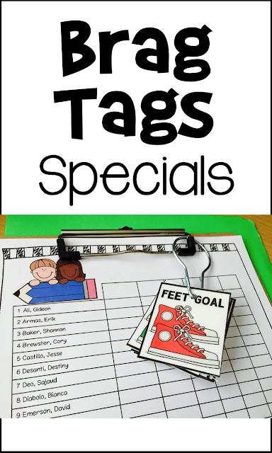 https://www.teacherspayteachers.com/Product/Brag-Tags-and-Goal-Setting-2635279