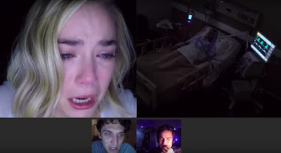 Unfriended: Dark Web 2018 movie still Rebecca Rittenhouse Colin Woodell Connor Del Rio