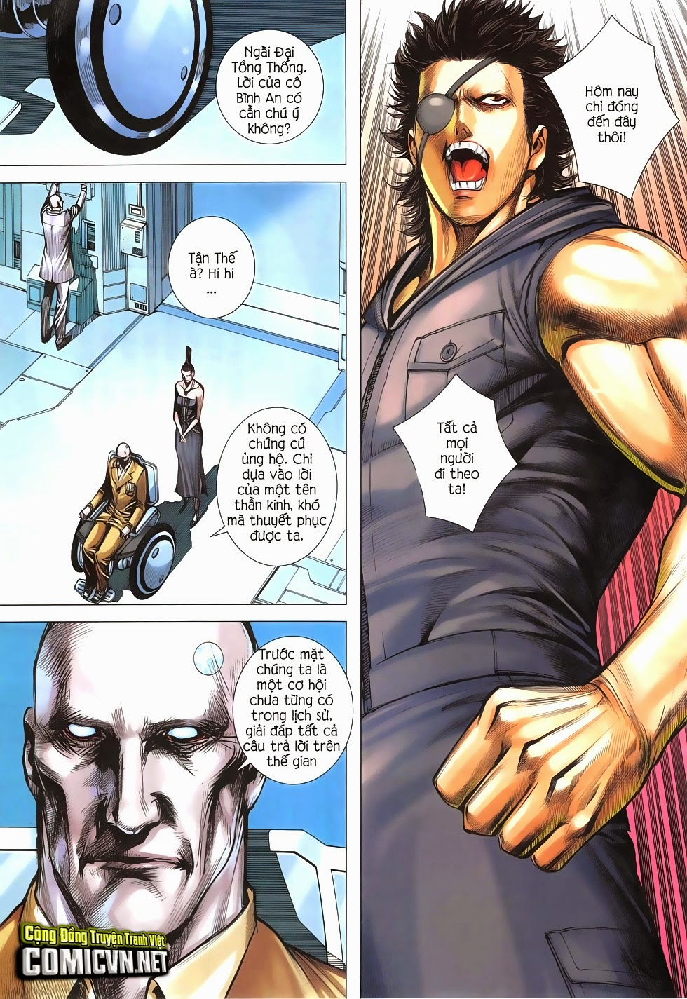 Đại Quân Phiệt chap 47: lời hứa trước khi thế giới chung kết trang 10