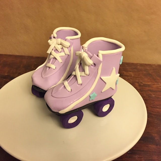 Cool Cakes By Mindy 80S Boom Box And Roller Skate Birthday Cake Funny Birthday Cards Online Inifofree Goldxyz