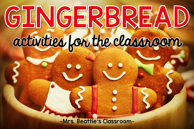 Teaching with gingerbread stories? Grab some fun ideas for bringing gingerbread activities into your classroom this year!