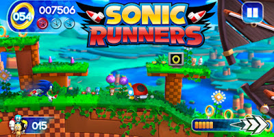 Screenshot: Sonic Runners for Android