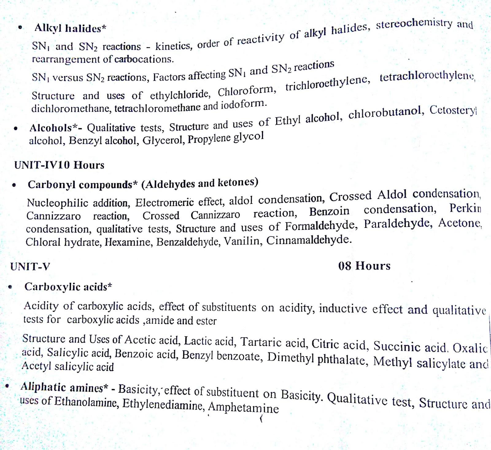 B Pharmacy 1st Year syllabus ~ Pharmacy guide