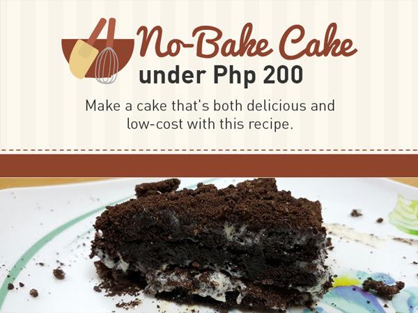 Super Easy No-Bake Chocolate Cake On A Budget