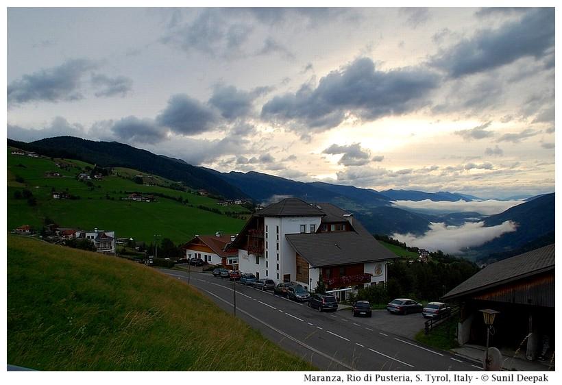 Maranza (Rio di Pusteria, Alto Adige, Italy) - Images by Sunil Deepak