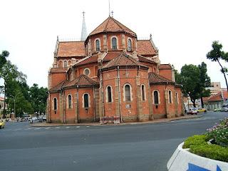 một góc nhà thờ đức bà