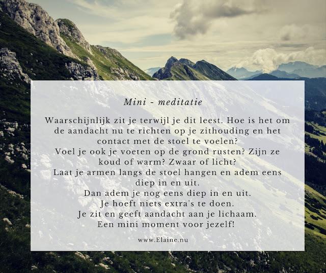 Meditatie Praktijk Elaine Klaaswaal