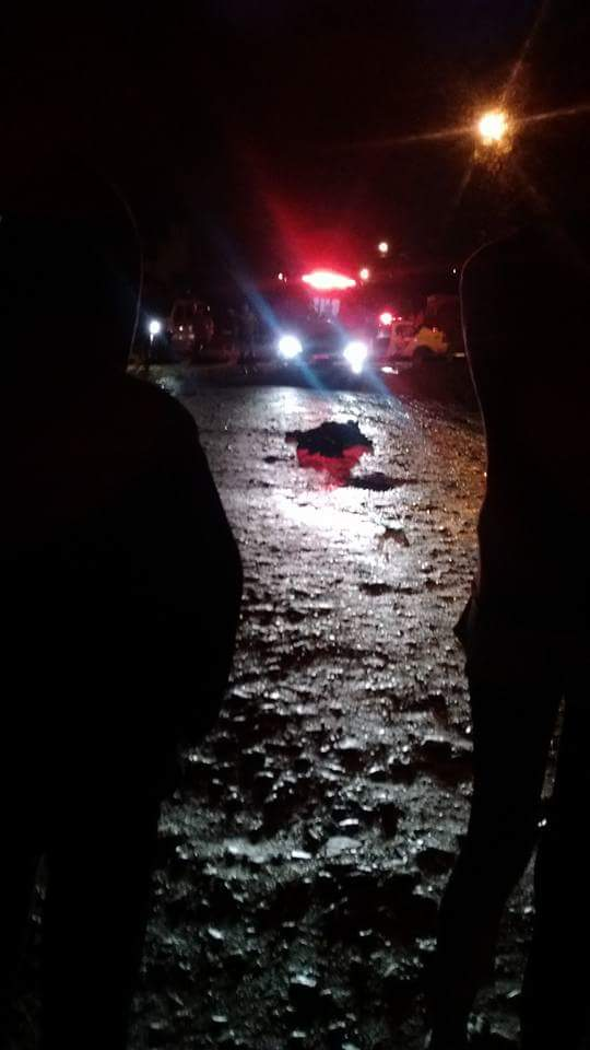 Homem é executado no meio da rua em Colombo
