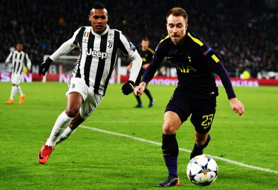 Tottenham con mentalità e forza: 2-2 in casa della Juventus, Higuain doppietta e errore su penalty