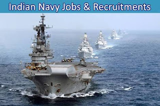 indian navy jobs and recruitments