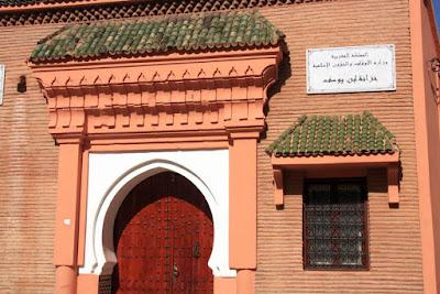Mezquita Ben Youssef en Marrakech