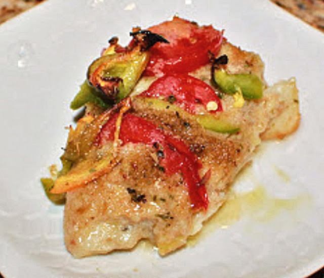 Italian baked white fish recipe what 39 s cookin 39 italian for How many calories in fried fish