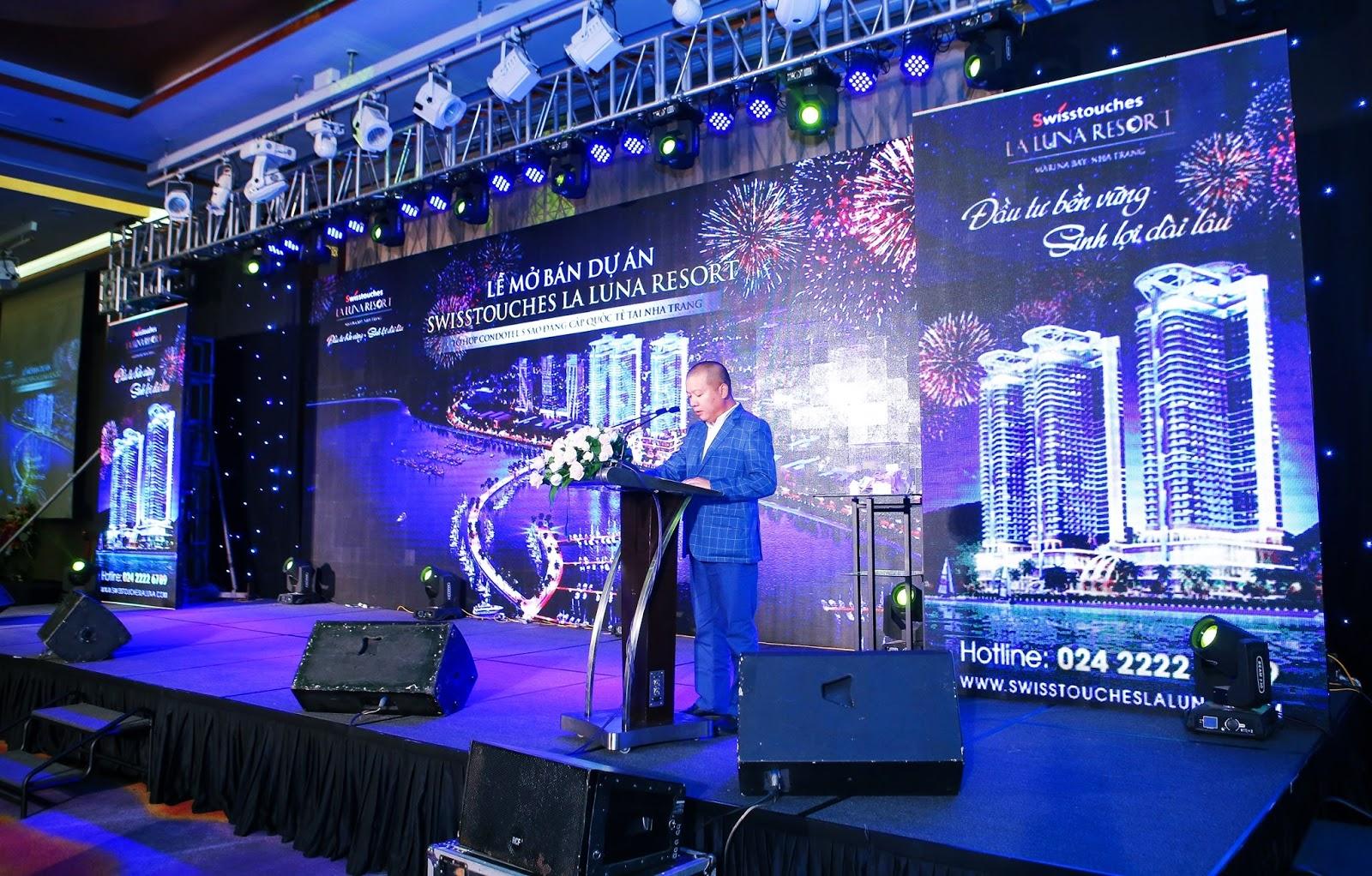 Ông Lã Quang Bình giới thiệu dự án La Luna Nha Trang