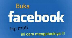 cara mengatasi Facebook restart sendiri