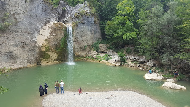 Kastamonu Küre Dağları Milli Parkı Ilıca Şelalesi.