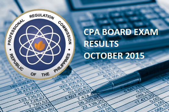 CPA Board Exam october 2015