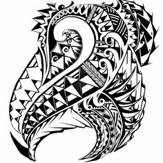 Hawaiian Tribal Tattoo Designs And Meanings Wallpaper