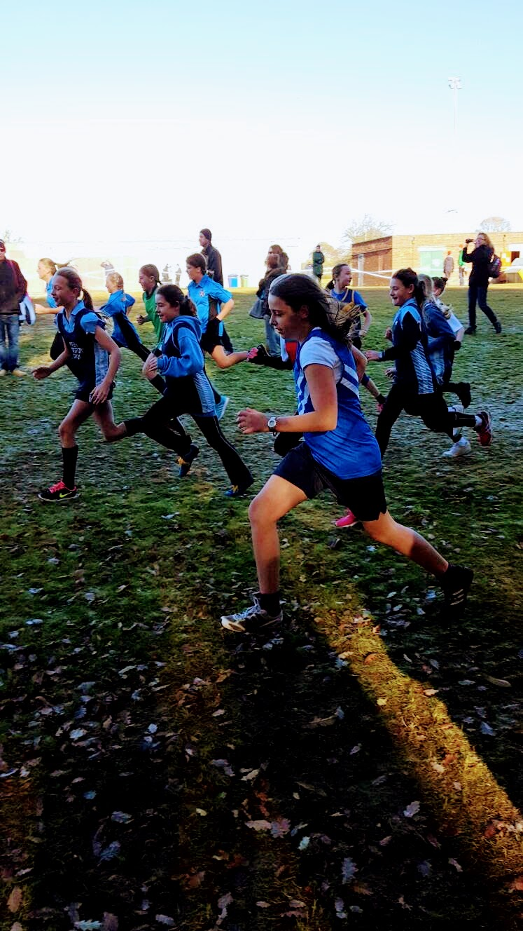 Cross Country At Berry Hill Park, Mansfield, Nottingham