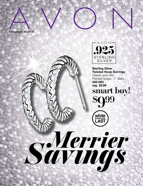 Avon Flyer Campaign 23 & 24 SHOP: 10/15/16 - 11/11/16