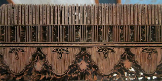 hiasan dinding batik cap tembaga
