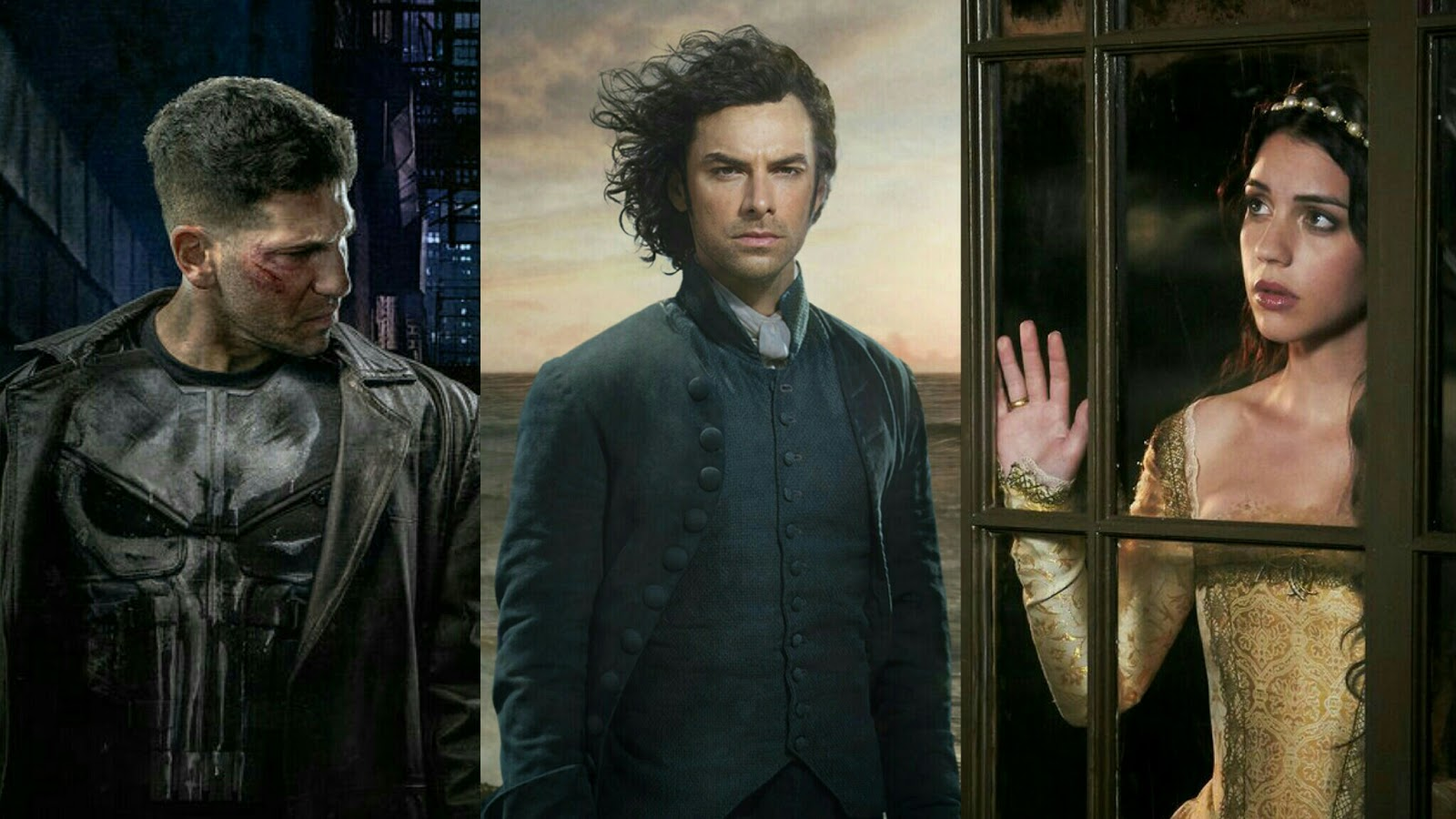 The Punisher, Poldark, Reign - Eclectic Pop's Best of 2016 TV
