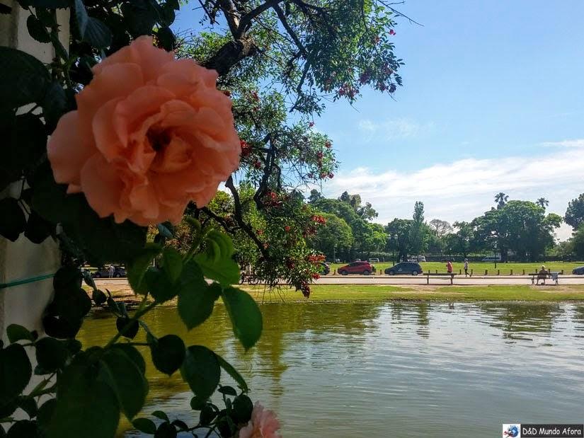 El Rosedal de Palermo - Buenos Aires Argentina