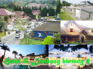 Hotel di Lembang Bintang 4