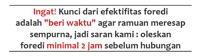 Image result for cara pakai foredi