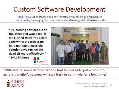 Culture and Language Consulting for Sales Teams with Team Suyati
