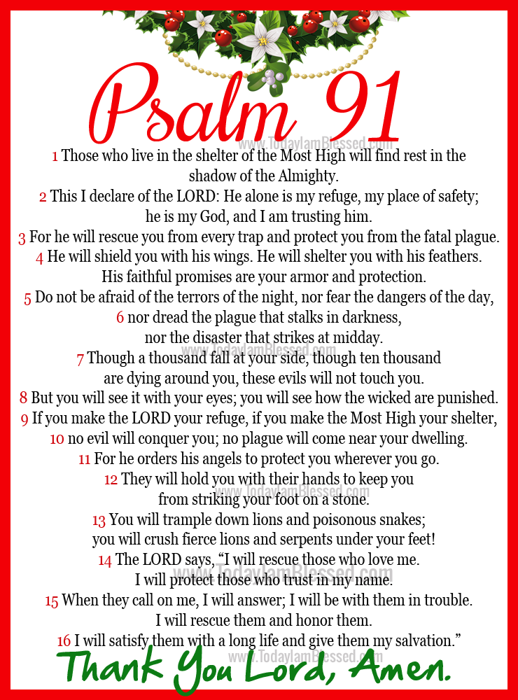 photo relating to Psalm 91 Printable known as Psalm 91 Pics - Opposite Glance