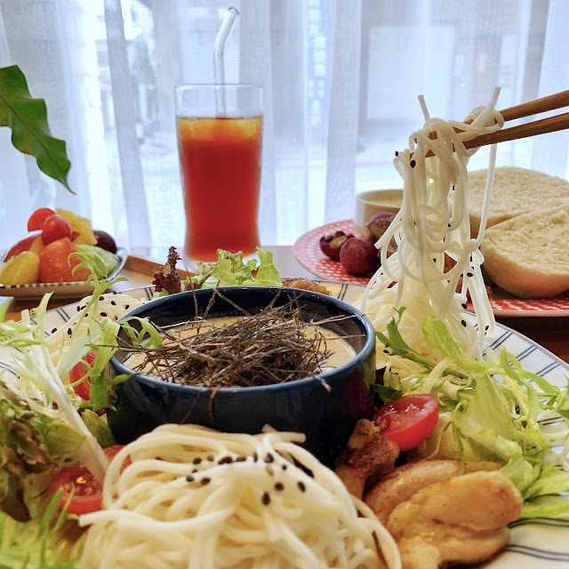 台南早午餐【豆弄.手作】昭和冷麵沙拉
