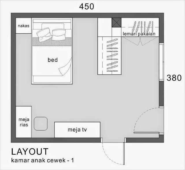 layout arsitek gowa